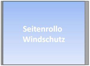 Seitenrollo Windschutz